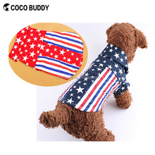 2016 Fashion Style Star Pattern dog products wholesale pet accessories dog clothes