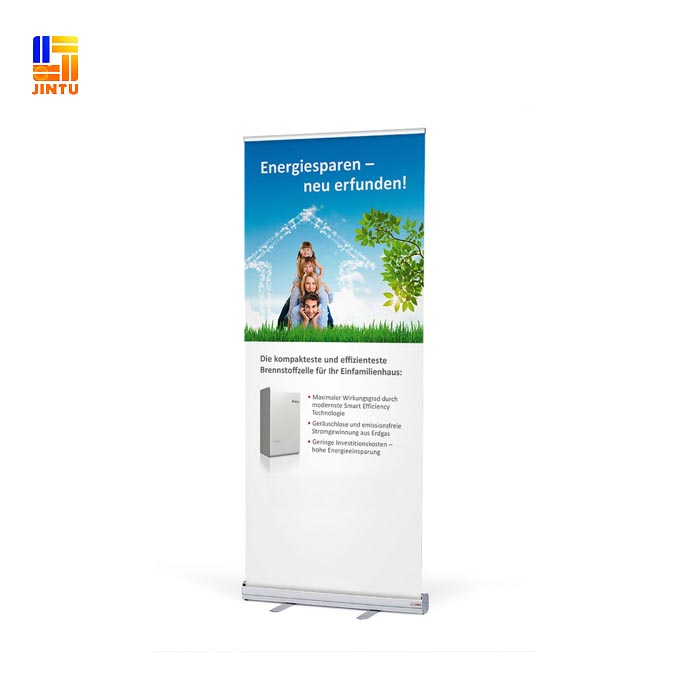 Customized Printed Aluminum Stands Roll up Banner Digital printing