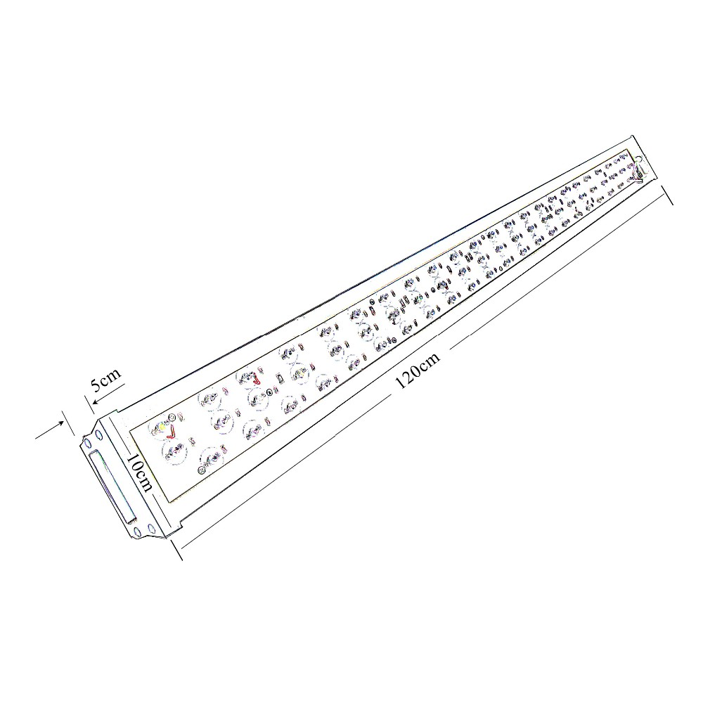 200w Led Grow Light High PAR Grow Lamps Horticulture Vegetative Grow Lamps UV LED Strip Grow Light