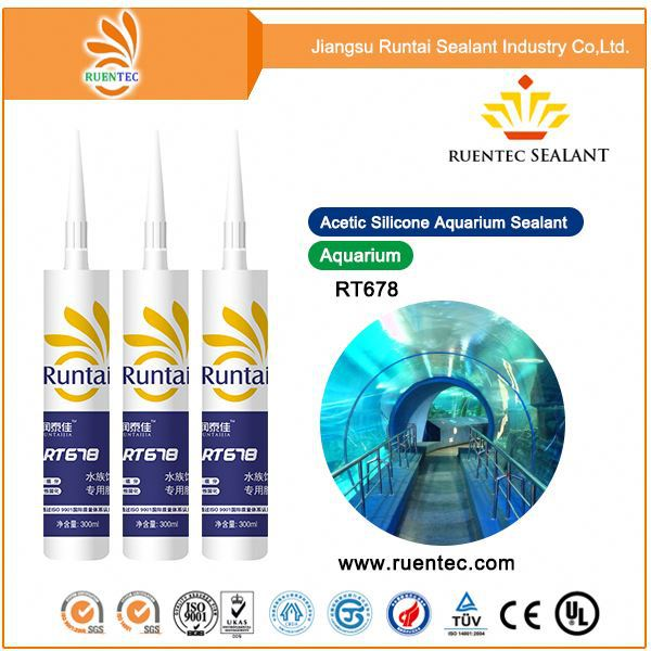 PVC Pipe Adhesive/Glazing Good Adhesion/Doors Silicone Sealant