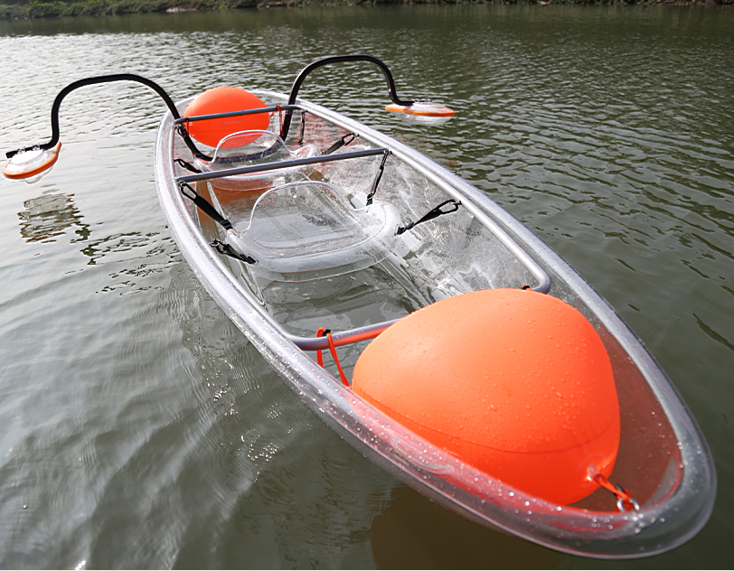 New Design Transparent Polycarbonate Kayak /Clear Fishing <strong>Boat</strong>/ Crystal PC