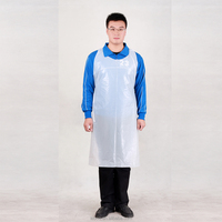 light weight food grade disposable plastic apron with CE & ISO certificates