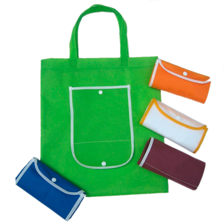 Oem foldable reusable nonwoven shopping bag