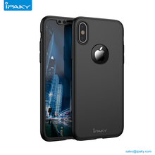 Shenzhen Ipaky Pc Hard 360 Degree Full Mobile Cover Cell Phone Case For Iphone X