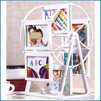 withe ferris wheel photo frame set/12 pcs picture frame