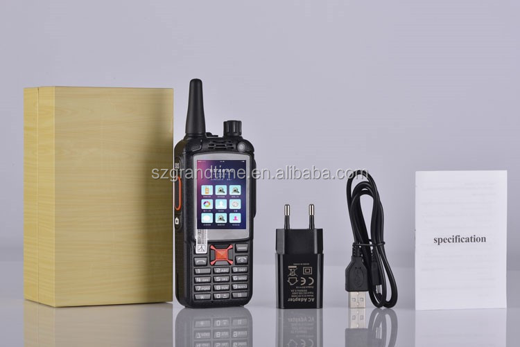 Push To Talk Smartphone 3G WCDMA Android PoC Radio With PTT Button, SOS and GPS