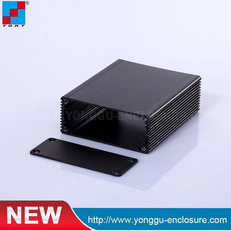 Project Extruded Aluminum Enclosure Custom Extruded Aluminum Enclosures For Pcb Housing