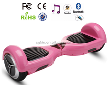 Self- produce shells aluminum frame factory made two wheel smart balance pink electric scooter
