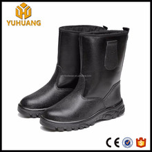 China shoe factory 10inch oil field knee high boots