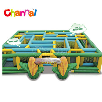 Popular inflatable corn maze inflatable maze for sale