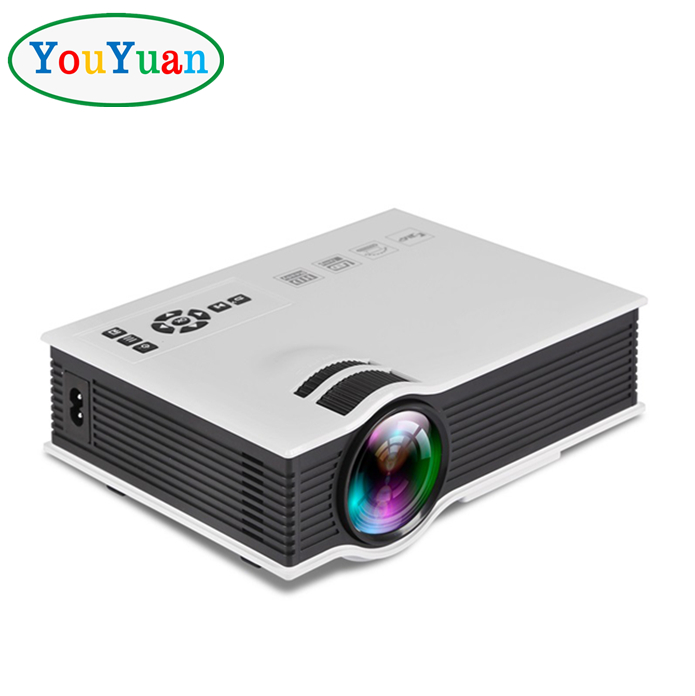 "YOUYUAN Full Color 130"" UC40+ Mini Portable HD LCD LED Home Theater Cinema Projector"