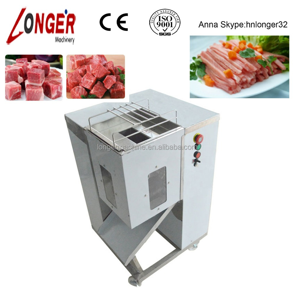 Chicken Meat Cube Cutting Machine/Frozen Chicken Meat Processing Machine/Chicken Meat Cutting Machine