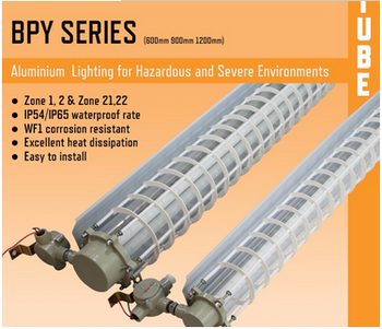 factory price for 2x36w t5 fluorescent explosion-proof lamp