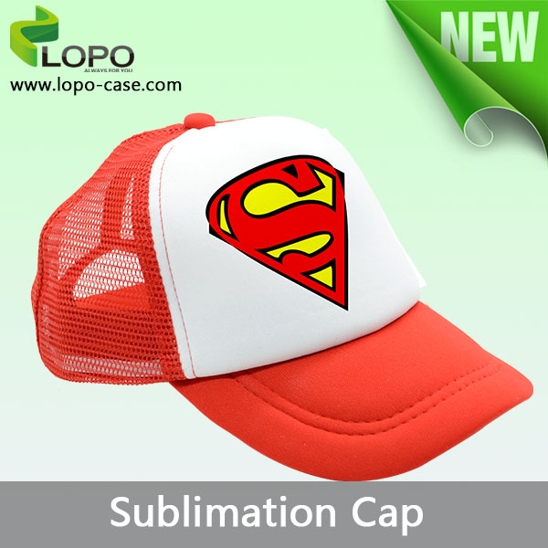 Popular sublimation blank cap for adults,baseball cap