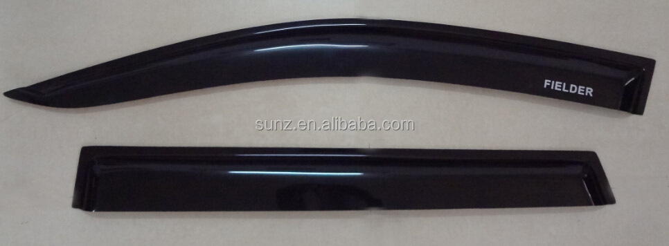 DOOR VISOR FOR TOYOTA FIELDER 2007 - RAIN SHIELD WIND SHILED,DOOR GUARD,BONNET GUARD TRADE ASSURANCE SUPPLIER
