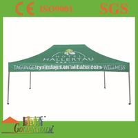 10x15 feet folding gazebo tent for event with PU coated polyester fabric