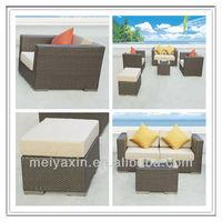 discount rattan stool indoor wicker sectional sofas