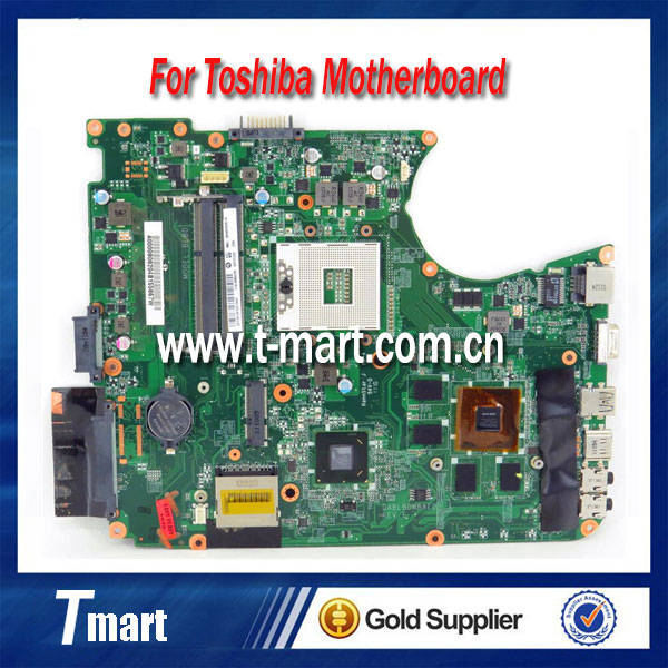 100% working laptop Motherboard for Toshiba L750 HM55 A000080820 Motherboard all fully tested