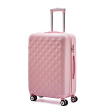 ABS Trolley luggage, suitcase with matching colors at wheel and handles