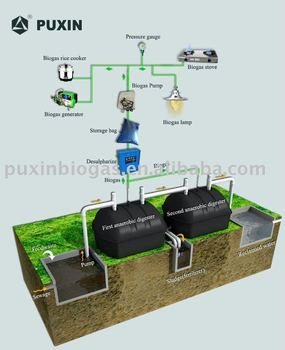 Household black water treatment system