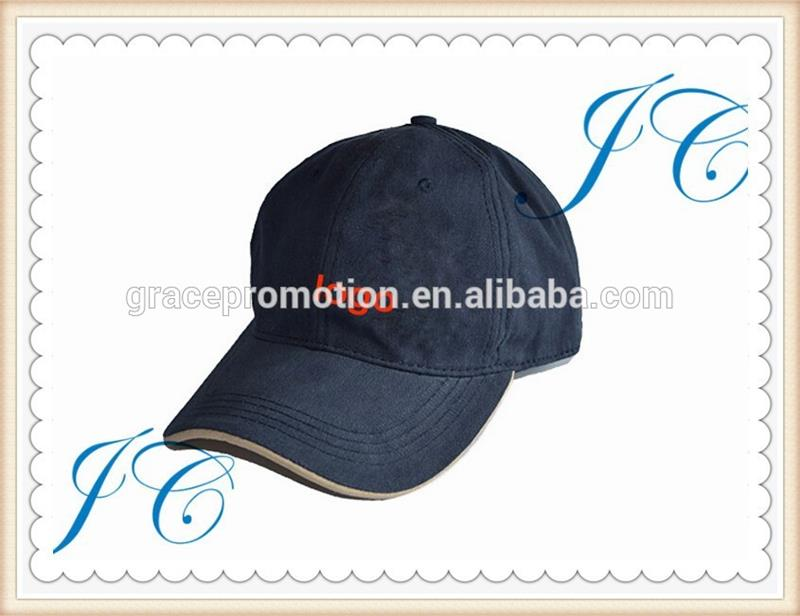 Promotional High Quality Caps,cotton sports caps ,Custom Cotton Embroidery Fashion Baseball Hat