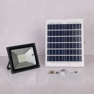 IP65 waterproof remote control 10w garden pathway solar power flood led light