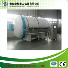 Hydraulic pressure open door glass fiber autoclave