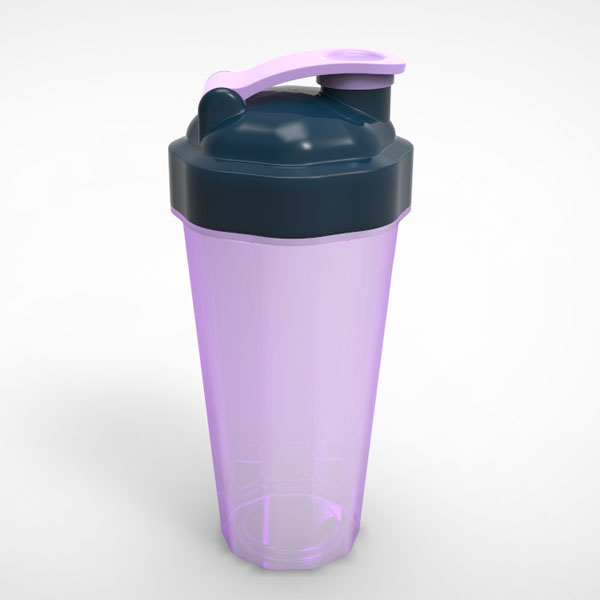Bike nutrition sport eco-friendly BPA Free 600ml protein shaker water bottle