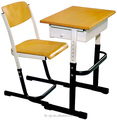 Good Price Standard Single Classroom Student Desk And Chair School Furniture