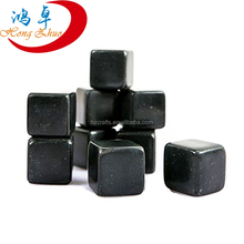 New Products 2016 Nontoxic and Recycle Natural Basalt Whiskey Stones Ice Cube