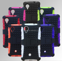 Companies Looking for Distributor Rugged Impact Hybrid Case for LG Google Nexus 5 Hard Kickstand Case Cover