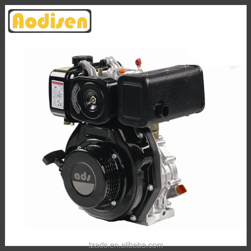 4 stroke air cooled time top quality single cylinder 15 hp diesel engine