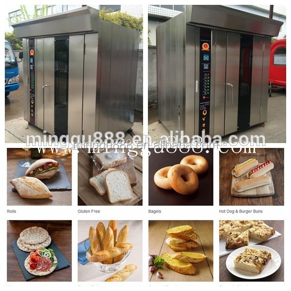 shanghai minggu high quality Hot Air Cycle Even Spray Steam Mechanism Easy Control Panel Electric/gas/disel Convection Oven