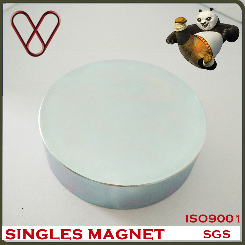 Strong Magnetic Cheap Permanent Rare Earth Disc Large Neodium Magnet