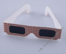 custom paper anaglyph 3d glasses for cinema