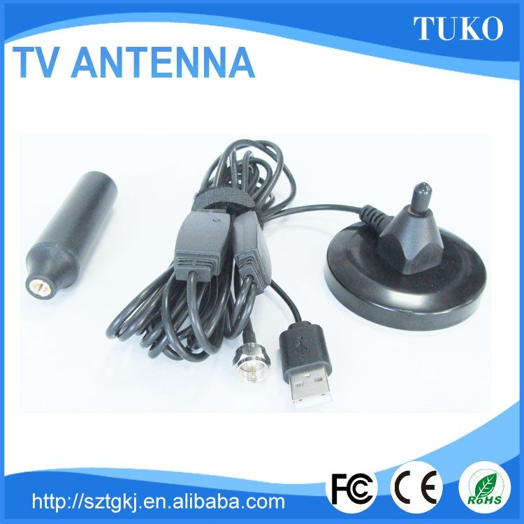 Car mobile dvb-t car digital tv 25db dvb-t antenna with sma connector