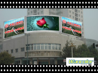Hot sell P8 Outdoor LED display for KK Mall full color xxx video china p8 led video display