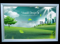 DongGuan supplier Custom advertising light box with graphic square Shape light box aluminum advertising light box