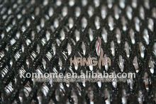 Mesh fabric for motorcycle seat cushion