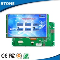 "5.6"" electronic tft lcm 65k bit color lcd for gas, gasoline petrol station"