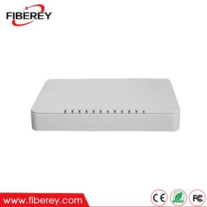 ZTE Olt Compatible Single Fiber 4FE/4GE + 1 POTS EPON ONU for FTTH