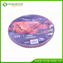 China Factory disposable food storage aluminium foil container