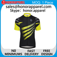custom sublimated cycling jersey and bib shorts / short sleeve specialized cycling jersey/ cycling shirt honorapparel
