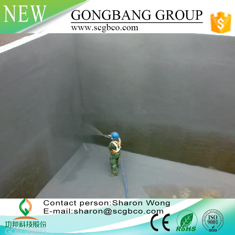 14 patents R&D Waterproof Membrane For Concrete,Environmental,Fireproof and Permanent Quality Warranty and Guarantee