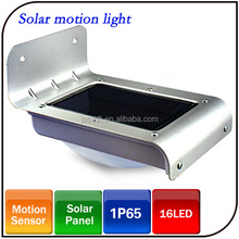 Wholesale Automatic Garden Light Outdoor Waterproof 16LED Solar Motion Sensor Light with Factory Price