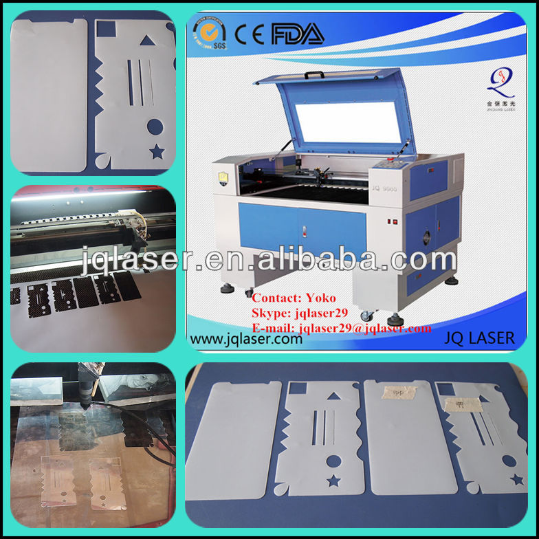 Cell phone screen protect film laser cutter equipment for the small business/ Iphone screen protector film cutting machine