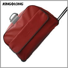 Carry-on Customized Cheap Leather Spinner Trolley Travel Luggage Bag