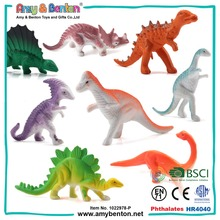 Wholesale cheap promotional mini plastic dinosaur toys set