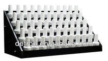 5 row bottles nail polish display stand acyrlic stand