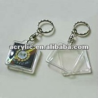 Clear Acrylic Photo Keychain
